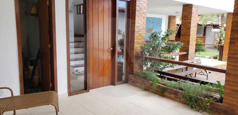 casa lirios do campo 12 - Agate Imóveis vende belissima residencia em condominio de luxo em Camboinhas - Niterói - HTCN50020 - 13