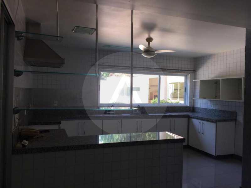 6 Casa Condomínio Piratininga - Imobiliária Agatê Imóveis vende Casa Duplex em Condomínio de 440 m² Piratininga - Niterói. - HTCN50021 - 8