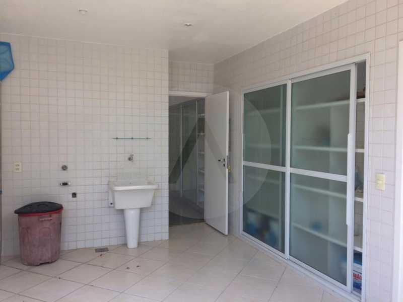 9 Casa Condomínio Piratininga - Imobiliária Agatê Imóveis vende Casa Duplex em Condomínio de 440 m² Piratininga - Niterói. - HTCN50021 - 10