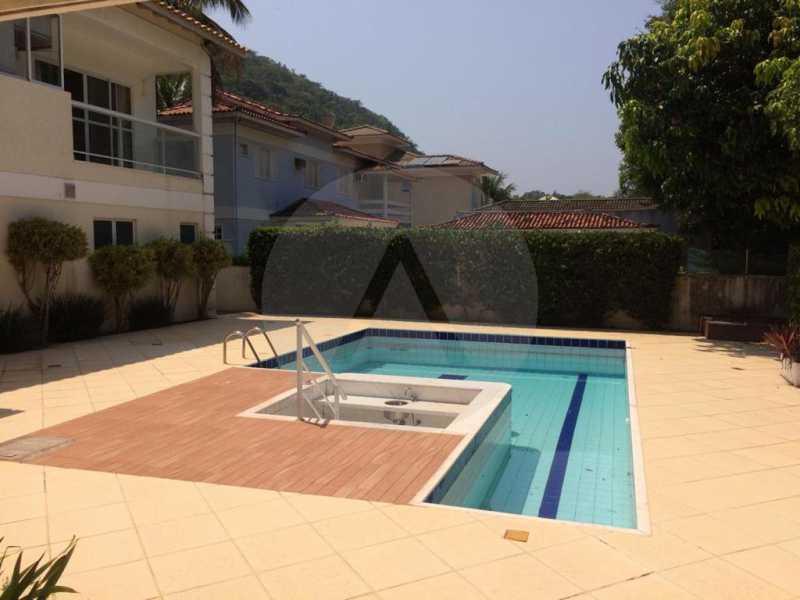 12 Casa Condomínio Piratining - Imobiliária Agatê Imóveis vende Casa Duplex em Condomínio de 440 m² Piratininga - Niterói. - HTCN50021 - 13