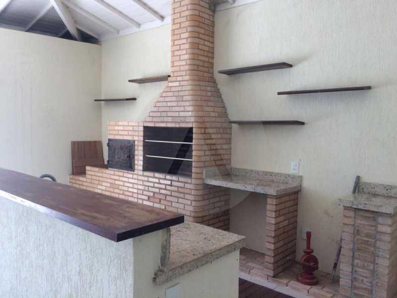 15 Casa Condomínio Piratining - Imobiliária Agatê Imóveis vende Casa Duplex em Condomínio de 440 m² Piratininga - Niterói. - HTCN50021 - 16