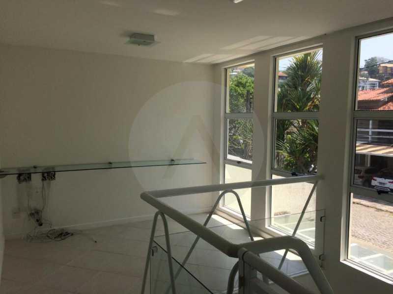 17 Casa Condomínio Piratining - Imobiliária Agatê Imóveis vende Casa Duplex em Condomínio de 440 m² Piratininga - Niterói. - HTCN50021 - 18