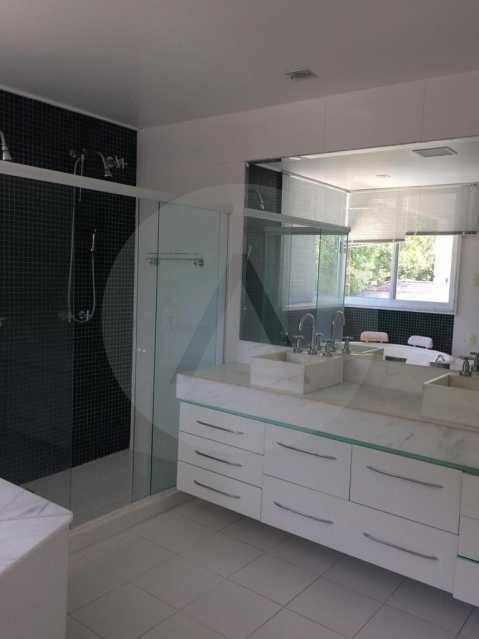 22 Casa Condomínio Piratining - Imobiliária Agatê Imóveis vende Casa Duplex em Condomínio de 440 m² Piratininga - Niterói. - HTCN50021 - 23