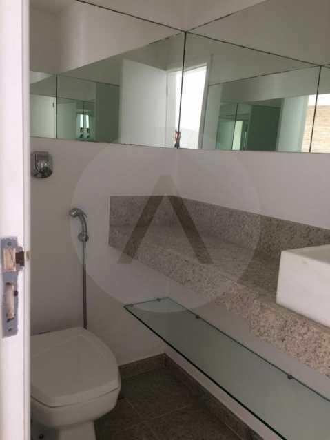 27 Casa Condomínio Piratining - Imobiliária Agatê Imóveis vende Casa Duplex em Condomínio de 440 m² Piratininga - Niterói. - HTCN50021 - 28