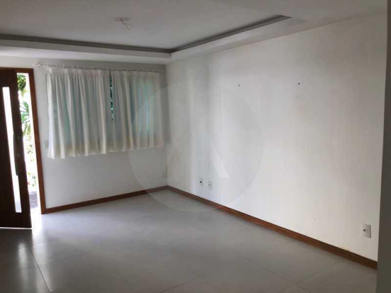 casa mini condominio bairro pe - Imobiliária Agate imóveis vende linda casa em mini condominio Itaipu - Niterói - HTCN40084 - 3