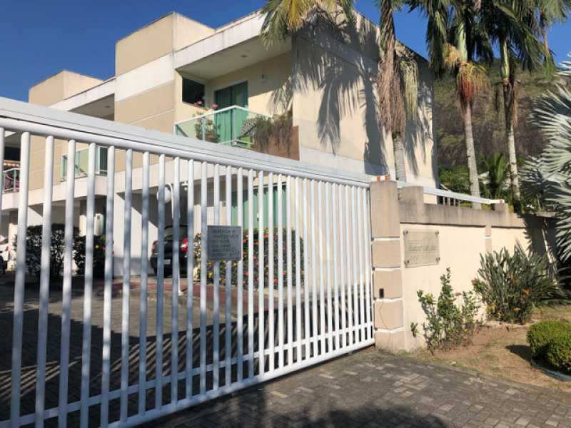 casa mini condominio bairro pe - Imobiliária Agate imóveis vende linda casa em mini condominio Itaipu - Niterói - HTCN40084 - 1