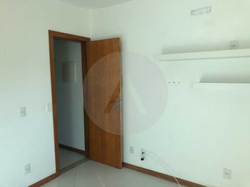 casa mini condominio bairro pe - Imobiliária Agate imóveis vende linda casa em mini condominio Itaipu - Niterói - HTCN40084 - 9