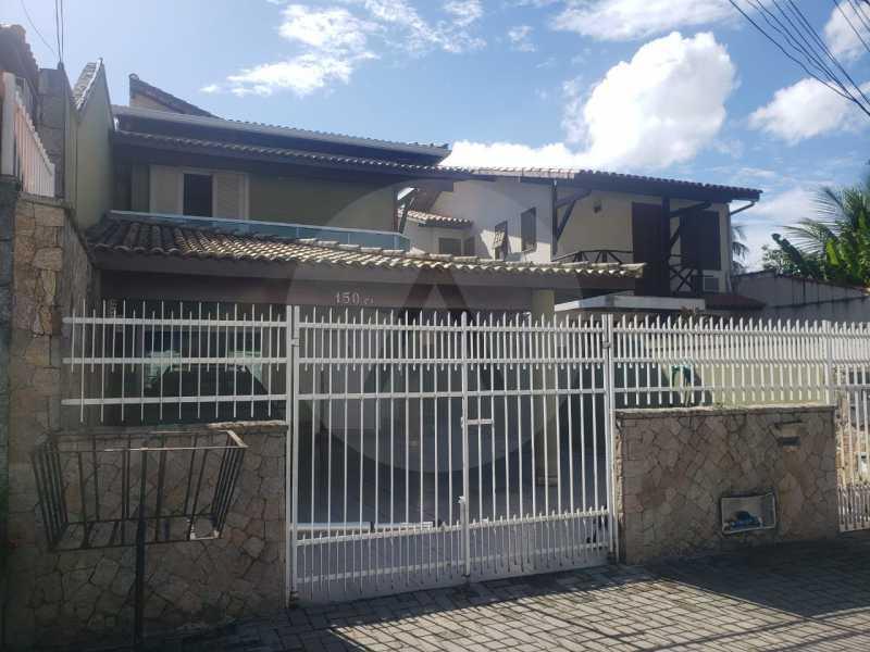 casa rua santander itaipu 02 - Imobiliária Agatê Imóveis vende excelente Casa Duplex Itaipu - Niterói - HTCA30259 - 3