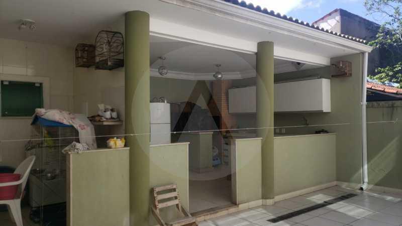 casa rua santander itaipu 04 - Imobiliária Agatê Imóveis vende excelente Casa Duplex Itaipu - Niterói - HTCA30259 - 5