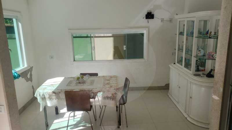 casa rua santander itaipu 06 - Imobiliária Agatê Imóveis vende excelente Casa Duplex Itaipu - Niterói - HTCA30259 - 7