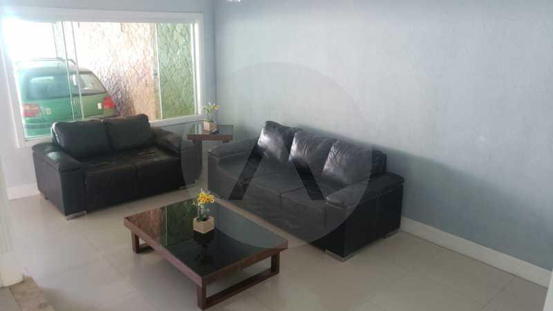 casa rua santander itaipu 08 - Imobiliária Agatê Imóveis vende excelente Casa Duplex Itaipu - Niterói - HTCA30259 - 9