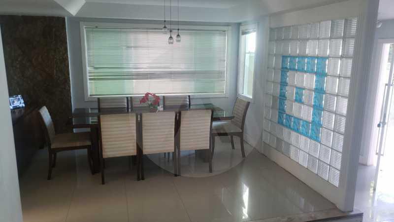 casa rua santander itaipu 09 - Imobiliária Agatê Imóveis vende excelente Casa Duplex Itaipu - Niterói - HTCA30259 - 10