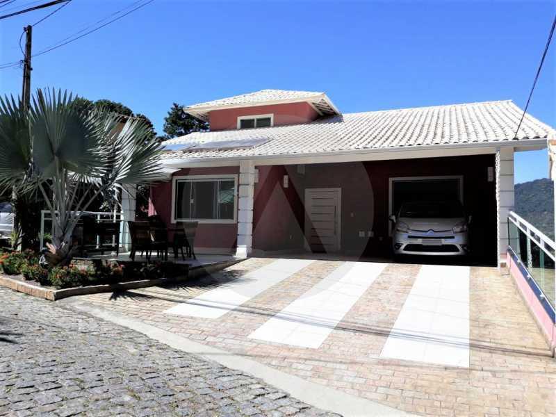 1 Casa Condomínio Itaipu. - Imobiliária Agate Imóveis vende belíssima casa em condomínio em Itaipu - Niterói. - HTCN30111 - 1
