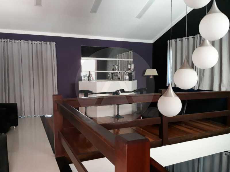 2 Casa Condomínio Itaipu. - Imobiliária Agate Imóveis vende belíssima casa em condomínio em Itaipu - Niterói. - HTCN30111 - 3