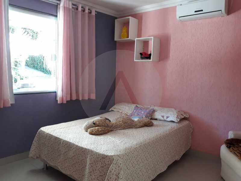 3 Casa Condomínio Itaipu. - Imobiliária Agate Imóveis vende belíssima casa em condomínio em Itaipu - Niterói. - HTCN30111 - 4