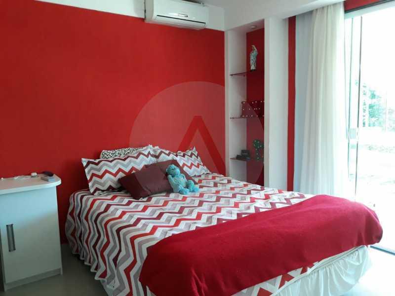 4 Casa Condomínio Itaipu. - Imobiliária Agate Imóveis vende belíssima casa em condomínio em Itaipu - Niterói. - HTCN30111 - 5