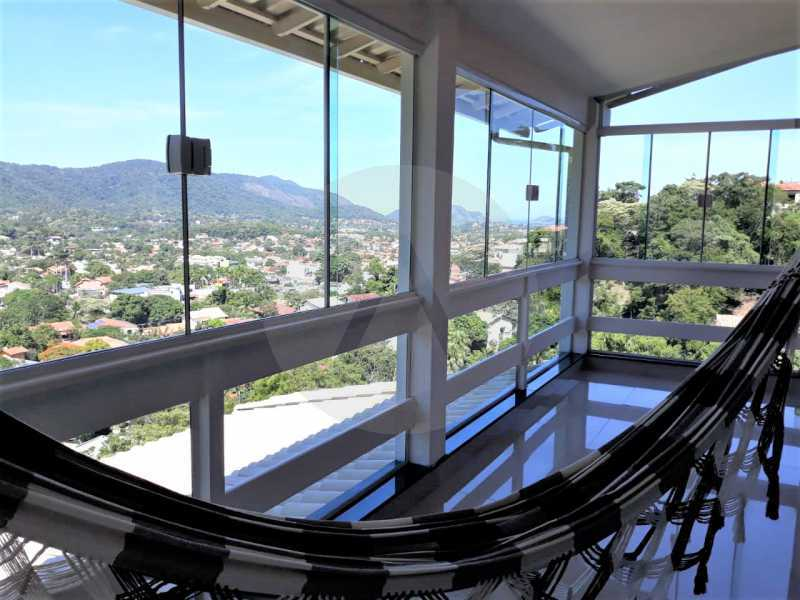5 Casa Condomínio Itaipu. - Imobiliária Agate Imóveis vende belíssima casa em condomínio em Itaipu - Niterói. - HTCN30111 - 6