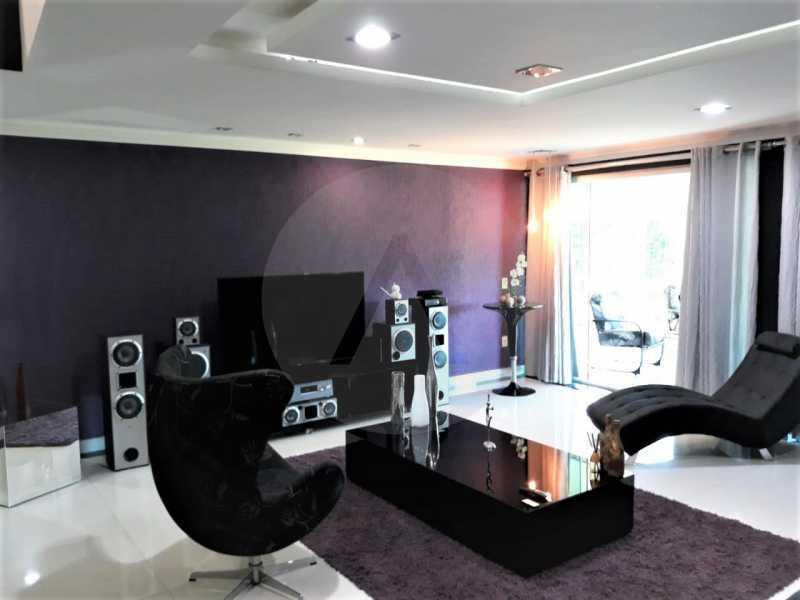 9 Casa Condomínio Itaipu. - Imobiliária Agate Imóveis vende belíssima casa em condomínio em Itaipu - Niterói. - HTCN30111 - 10