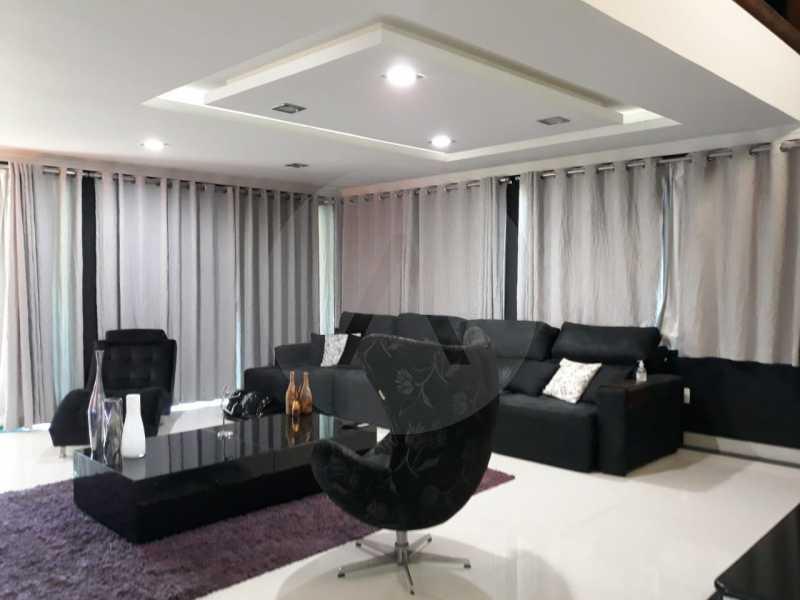 10 Casa Condomínio Itaipu. - Imobiliária Agate Imóveis vende belíssima casa em condomínio em Itaipu - Niterói. - HTCN30111 - 11