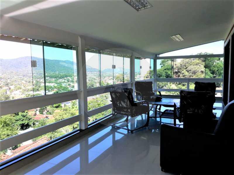 11 Casa Condomínio Itaipu. - Imobiliária Agate Imóveis vende belíssima casa em condomínio em Itaipu - Niterói. - HTCN30111 - 12