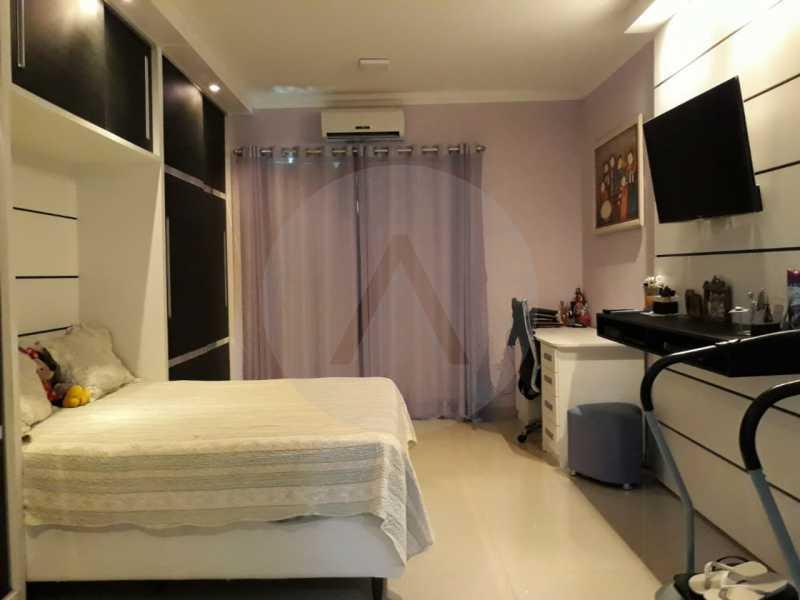 13 Casa Condomínio Itaipu. - Imobiliária Agate Imóveis vende belíssima casa em condomínio em Itaipu - Niterói. - HTCN30111 - 14