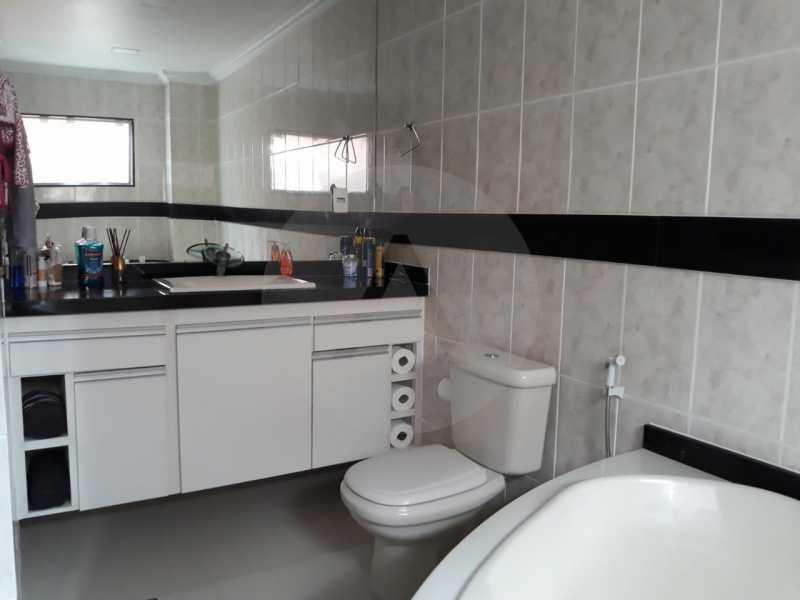 15 Casa Condomínio Itaipu. - Imobiliária Agate Imóveis vende belíssima casa em condomínio em Itaipu - Niterói. - HTCN30111 - 16