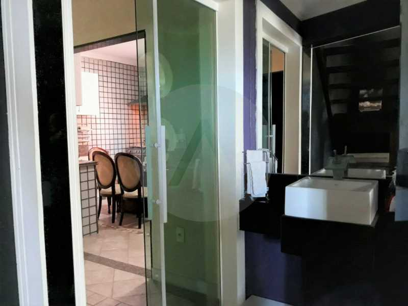 17 Casa Condomínio Itaipu. - Imobiliária Agate Imóveis vende belíssima casa em condomínio em Itaipu - Niterói. - HTCN30111 - 18