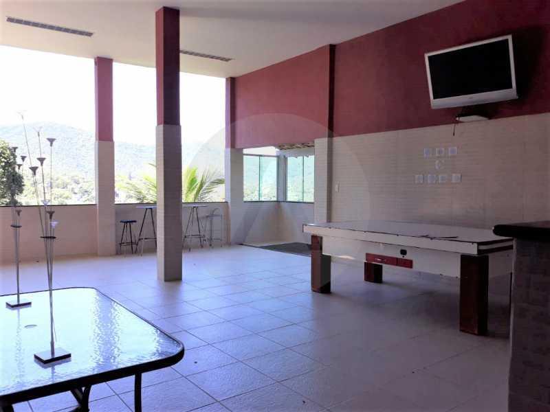 23 Casa Condomínio Itaipu. - Imobiliária Agate Imóveis vende belíssima casa em condomínio em Itaipu - Niterói. - HTCN30111 - 24