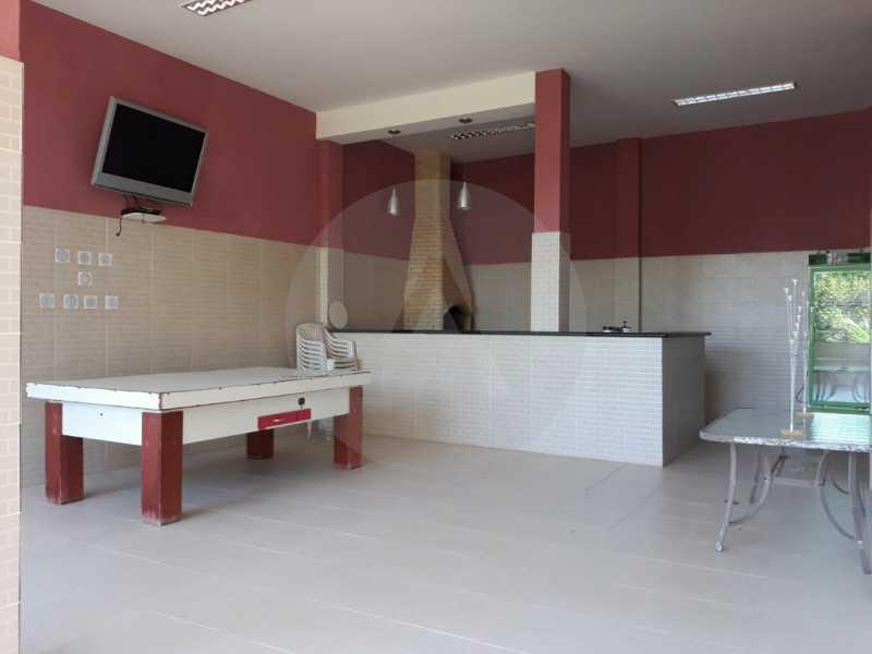 24 Casa Condomínio Itaipu. - Imobiliária Agate Imóveis vende belíssima casa em condomínio em Itaipu - Niterói. - HTCN30111 - 25