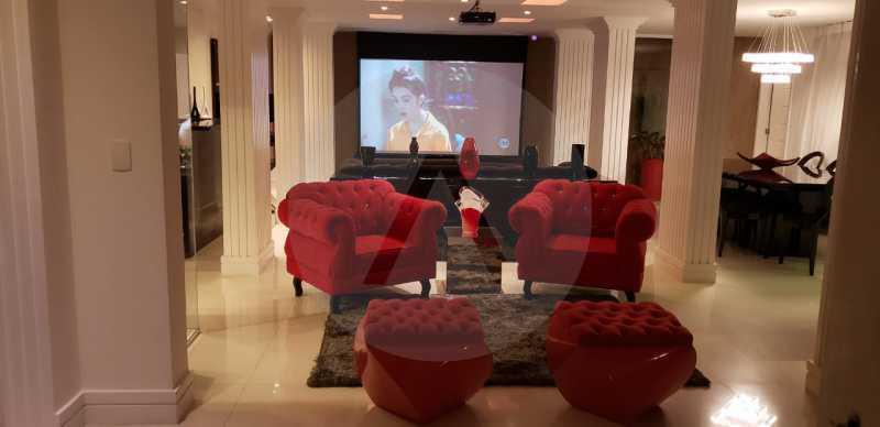 4 Casa Triplex Camboinhas. - Imobiliária Agatê Imóveis vende Magnífica Casa Triplex de 425 m² Camboinhas - Niterói. - HTCA40129 - 5