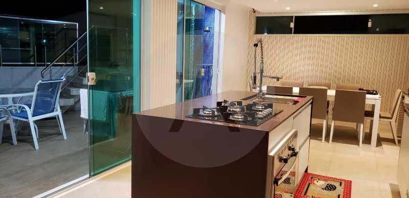 25 Casa Triplex Camboinhas. - Imobiliária Agatê Imóveis vende Magnífica Casa Triplex de 425 m² Camboinhas - Niterói. - HTCA40129 - 26