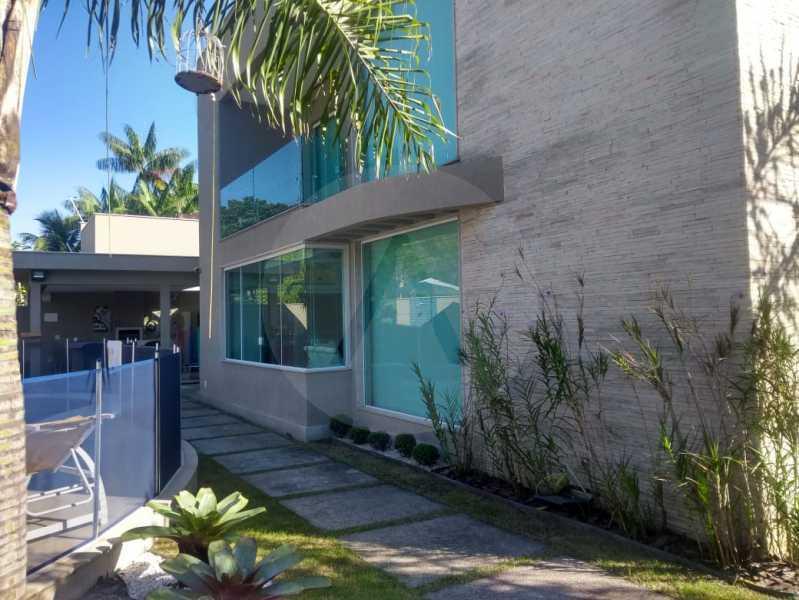 1 Casa Alto Padrão Camboinhas - Agate imóveis vende casa alto padrão em Camboinhas - Niterói. - HTCA30264 - 1