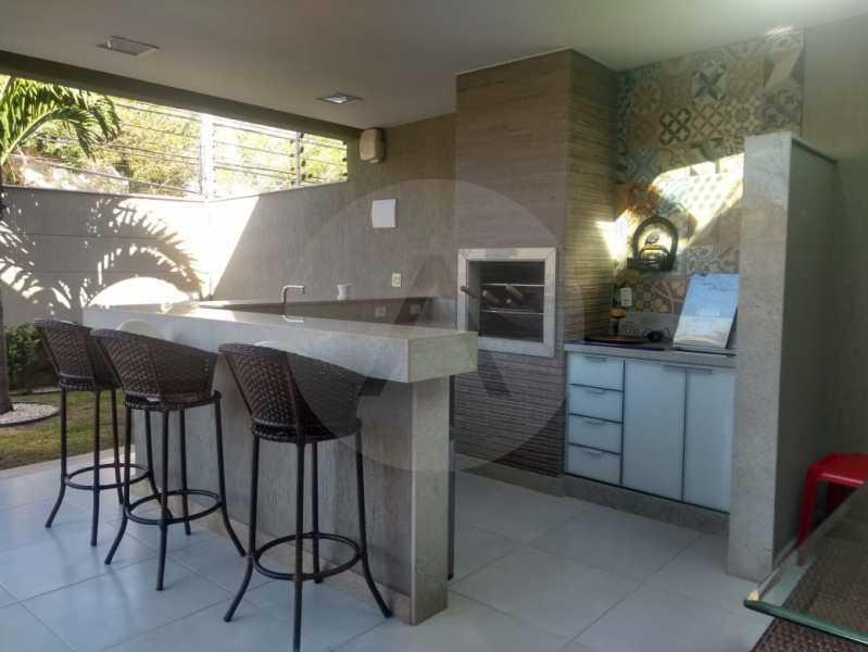 8 Casa Alto Padrão Camboinhas - Agate imóveis vende casa alto padrão em Camboinhas - Niterói. - HTCA30264 - 9