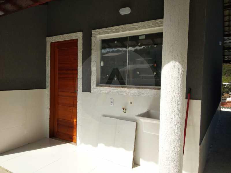Casa Condomínio  - Imobiliária Agatê Imóveis vende Casa em Condomínio de 61 m² Várzea das Moças - Niterói. - HTCN20051 - 27