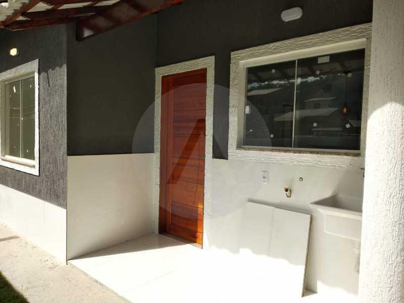 Casa Condomínio  - Imobiliária Agatê Imóveis vende Casa em Condomínio de 61 m² Várzea das Moças - Niterói. - HTCN20051 - 28