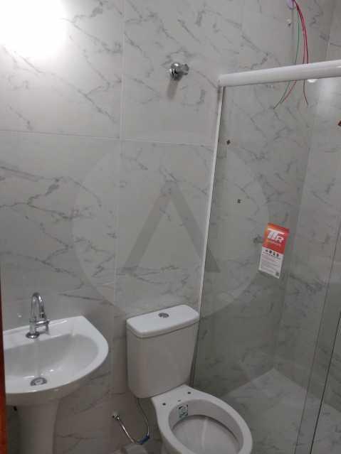 Casa Condomínio  - Imobiliária Agatê Imóveis vende Casa em Condomínio de 61 m² Várzea das Moças - Niterói. - HTCN20051 - 19