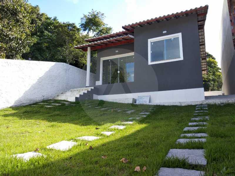 Casa Condomínio  - Imobiliária Agatê Imóveis vende Casa em Condomínio de 61 m² Várzea das Moças - Niterói. - HTCN20051 - 4
