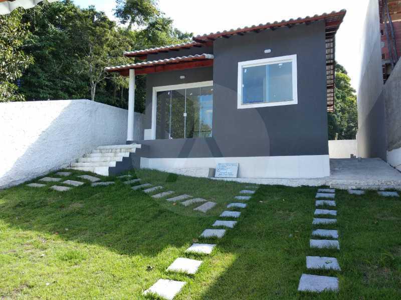 Casa Condomínio  - Imobiliária Agatê Imóveis vende Casa em Condomínio de 61 m² Várzea das Moças - Niterói. - HTCN20051 - 1