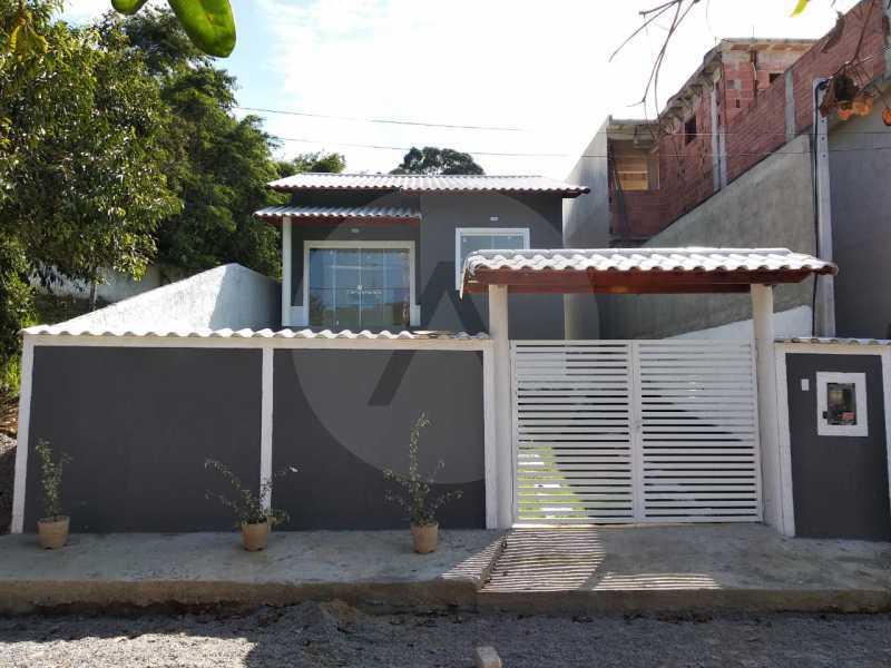 Casa Condomínio  - Imobiliária Agatê Imóveis vende Casa em Condomínio de 61 m² Várzea das Moças - Niterói. - HTCN20051 - 3