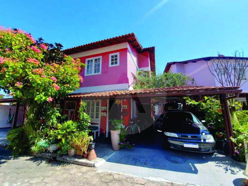 1 Casa Condomínio Itaipu - Casa em Condomínio 3 quartos à venda Itaipu, Niterói - R$ 580.000 - HTCN30117 - 1