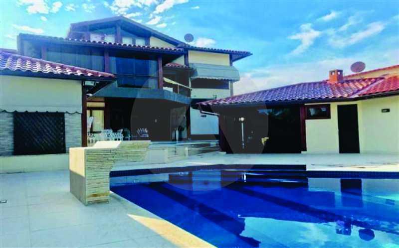 1 Casa Picolé Camboinhas - Imobiliária Agatê Imóveis vende mansão no Picolé - Camboinhas - Niterói. - HTCA60002 - 1