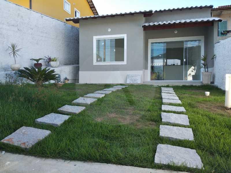 1 Casa Condomínio. - Imobiliária Agatê Imóveis vende Casa em Condomínio de 61 m² Várzea das Moças - Niterói. - HTCN20052 - 1
