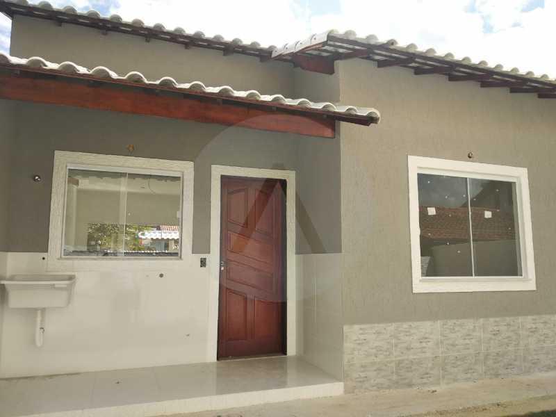 6 Casa Condomínio. - Imobiliária Agatê Imóveis vende Casa em Condomínio de 61 m² Várzea das Moças - Niterói. - HTCN20052 - 7