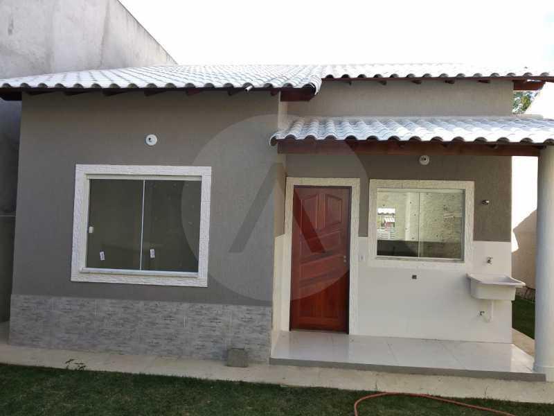 7 Casa Condomínio. - Imobiliária Agatê Imóveis vende Casa em Condomínio de 61 m² Várzea das Moças - Niterói. - HTCN20052 - 8