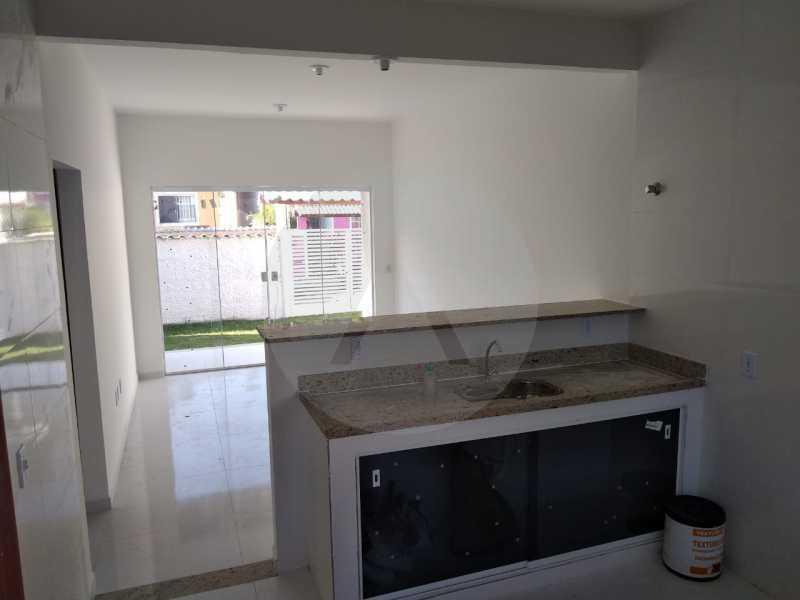 8 Casa Condomínio. - Imobiliária Agatê Imóveis vende Casa em Condomínio de 61 m² Várzea das Moças - Niterói. - HTCN20052 - 9