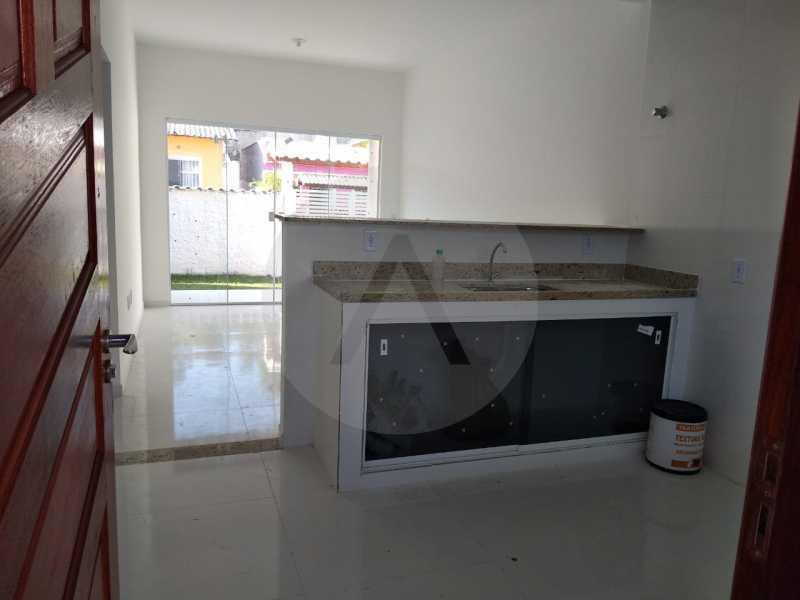 9 Casa Condomínio. - Imobiliária Agatê Imóveis vende Casa em Condomínio de 61 m² Várzea das Moças - Niterói. - HTCN20052 - 10