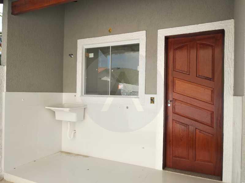 14 Casa Condomínio. - Imobiliária Agatê Imóveis vende Casa em Condomínio de 61 m² Várzea das Moças - Niterói. - HTCN20052 - 15