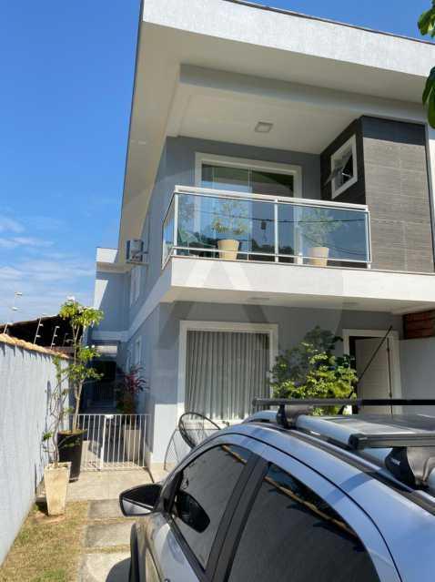 1 Casa Padrão Piratininga. - Imobiliária Agatê Imóveis vende Casa Duplex - Piratininga - Niterói. - HTCA40131 - 1