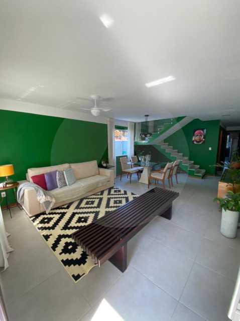 3 Casa Padrão Piratininga. - Imobiliária Agatê Imóveis vende Casa Duplex - Piratininga - Niterói. - HTCA40131 - 4