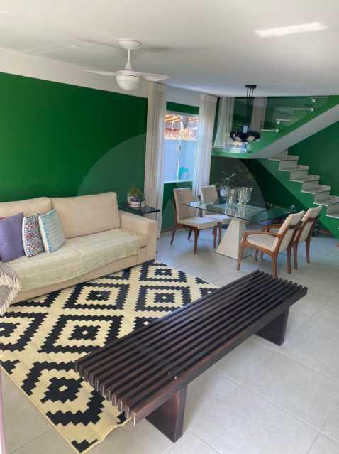 5 Casa Padrão Piratininga. - Imobiliária Agatê Imóveis vende Casa Duplex - Piratininga - Niterói. - HTCA40131 - 6